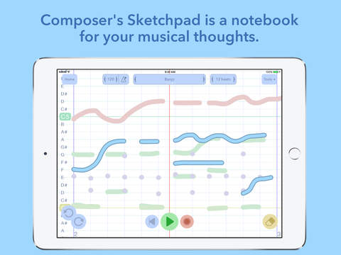 Composer-Sketchpad