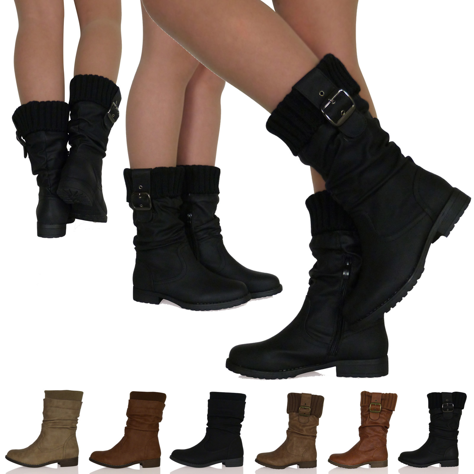 Womens-Casual-Boots